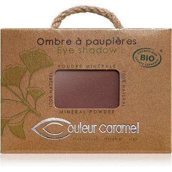 Couleur Caramel Eye Shadow minerální oční stíny odstín č.080 - Matt Cocoa 2,5 g
