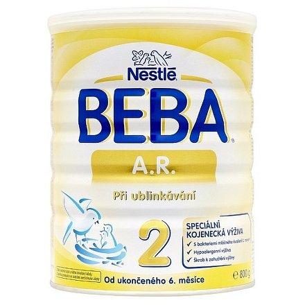 NESTLÉ Beba A.R.2, speciální kojenecké mléko při ublinkávání 800g
