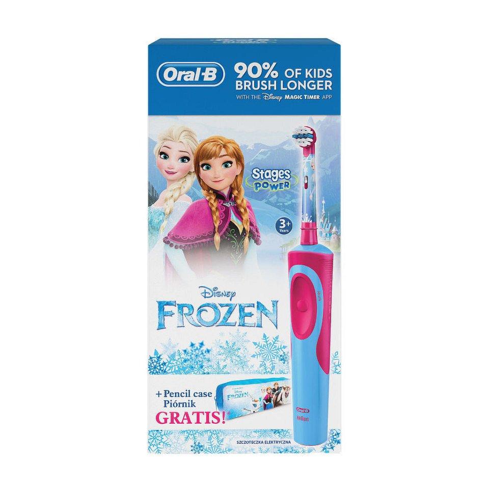 Oral-B El.kart. Vitality dětský Frozen + penál