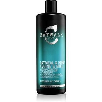 TIGI Catwalk Oatmeal & Honey vyživující kondicionér pro suché a poškozené vlasy  750 ml