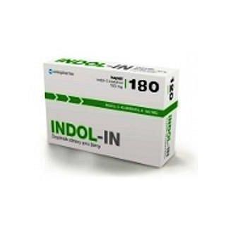 INDOL-IN orální tobolky 180 (cysty HPV myomy bolest prsou)