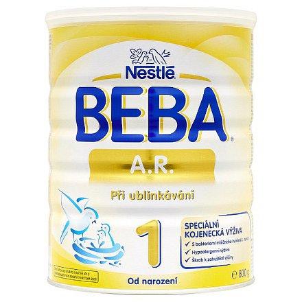 NESTLÉ Beba A.R.1, speciální kojenecké mléko při ublinkávání 800g