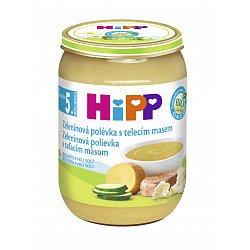 HIPP BABY MENU BIO Polévka zeleninová s telecím 190g