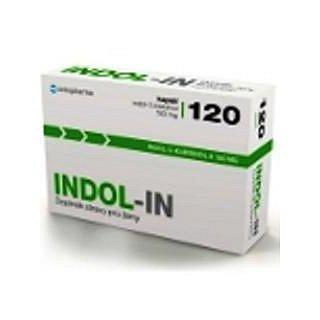 INDOL-IN orální tobolky 120 (cysty HPV myomy bolest prsou)