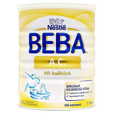 NESTLÉ Beba A.C. speciální kojenecké mléko při kolikách 800g