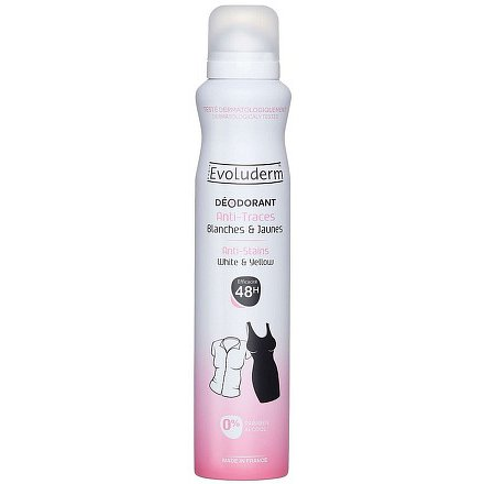 Evoluderm Deodorant Invisible beze stop 200 ml