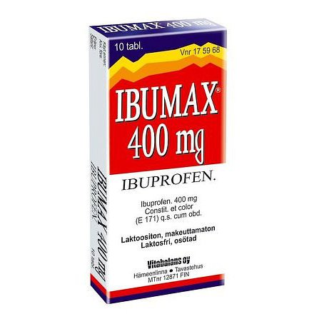 Ibumax 400 tablety 10ks