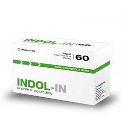INDOL-IN orální tobolky 60 (cysty HPV myomy bolest prsou)