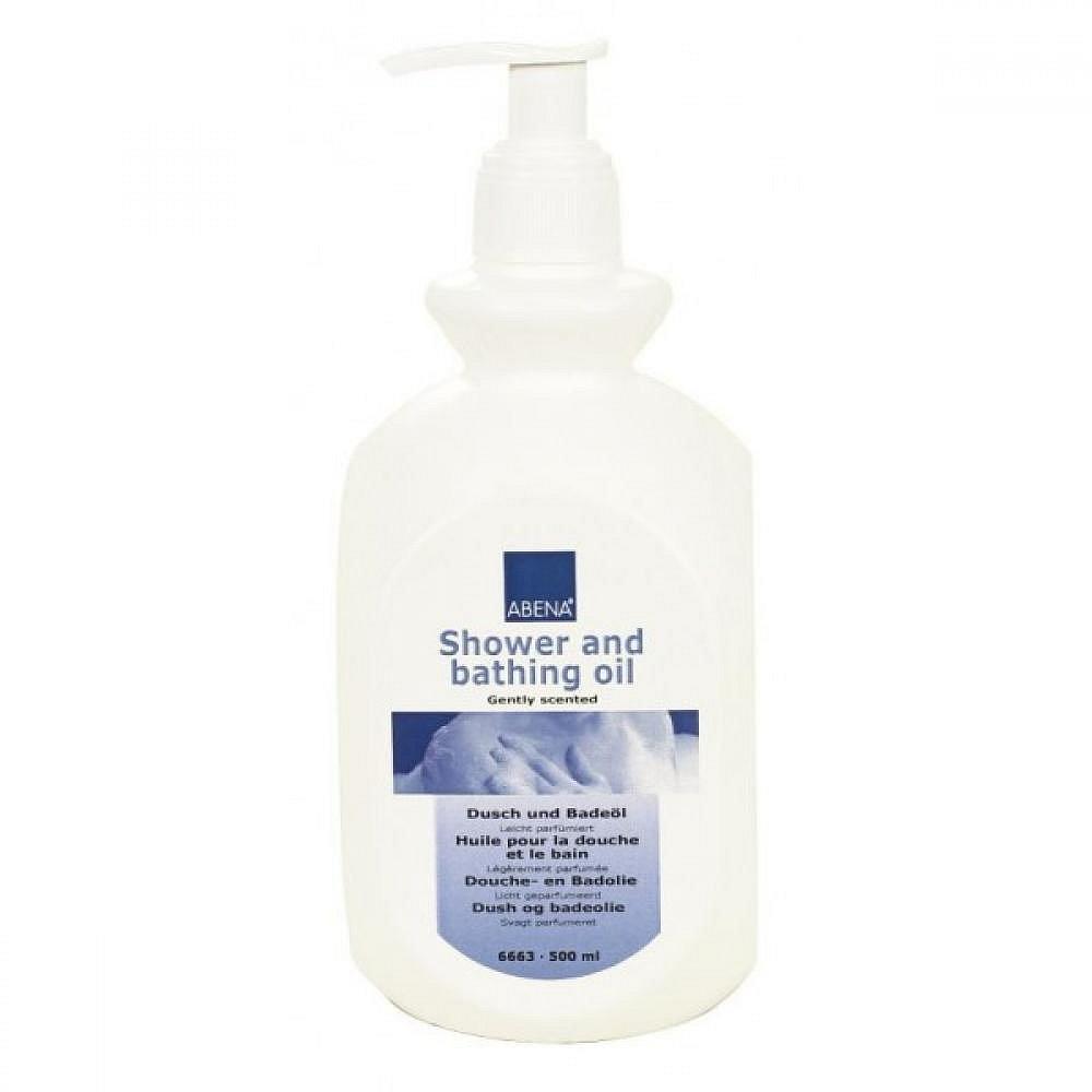 ABENA sprchový a koupelový olej - péče o vlasy a tělo 500 ml