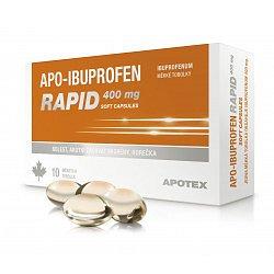 Apo-Ibuprofen Rapid 400 mg 10 kapslí