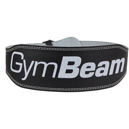 Fitness opasek Ronnie – GymBeam unflavored black – velikost S