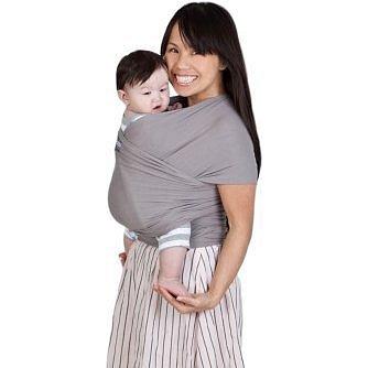 Nosič dětí / šátek Boba Wrap - Grey