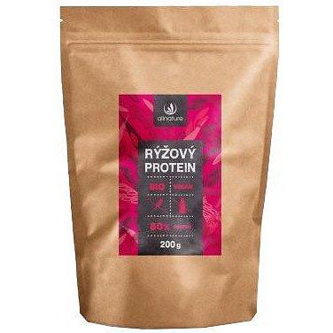Allnature Rýžový protein 80% BIO 200g