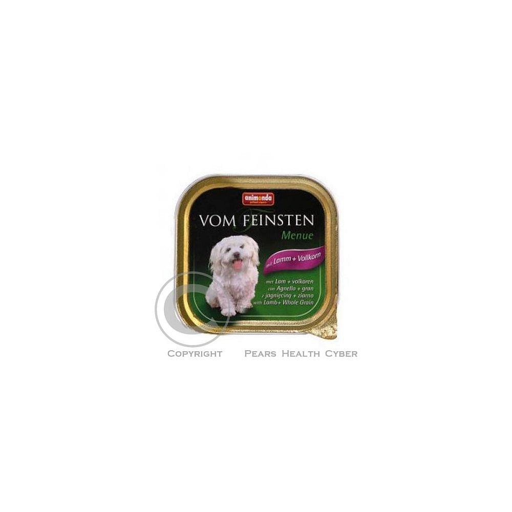 Animonda paštika Menue jehněčí/obiloviny pes 150g