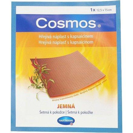 Cosmos hřejivá náplast s kapsaicinem jemná 12.5x15cm 1ks