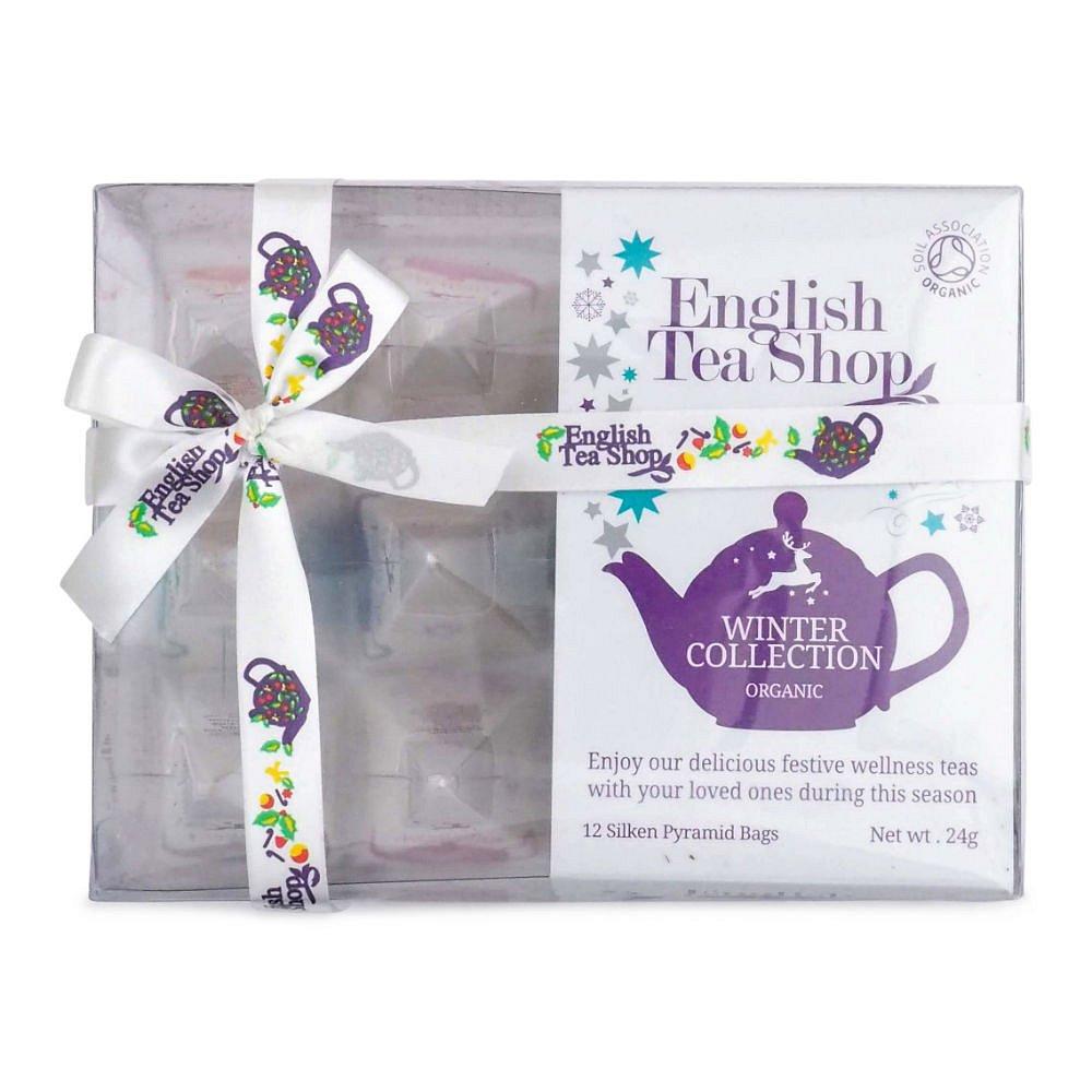 English Tea Shop Zimní kolekce 12 pyramidek BIO 24g, poškozený obal