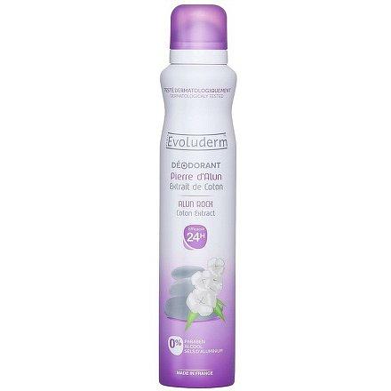 Evoluderm Deodorant s výtažkem bavlny 200 ml
