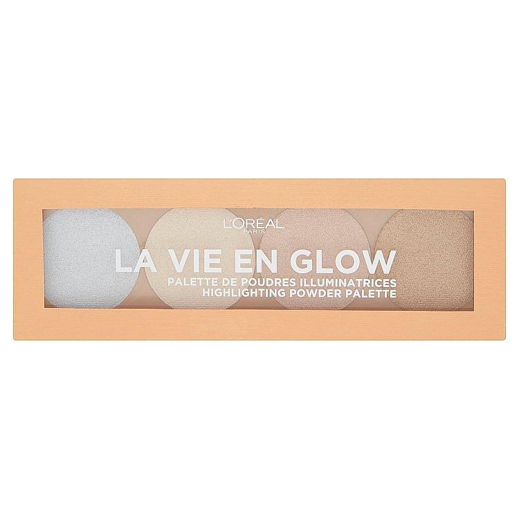 L´Oréal Paris Wake Up & Glow La Vie En Glow rozjasňující paletka 5 g