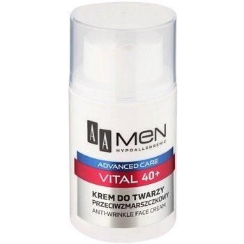 AA Cosmetics Men Vital 40+ protivráskový krém proti stárnutí pleti  50 ml