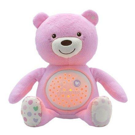 Medvídek s projektorem - růžová