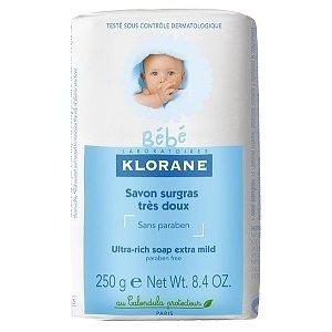 KLORANE BEBE výživné dětské mýdlo 250g