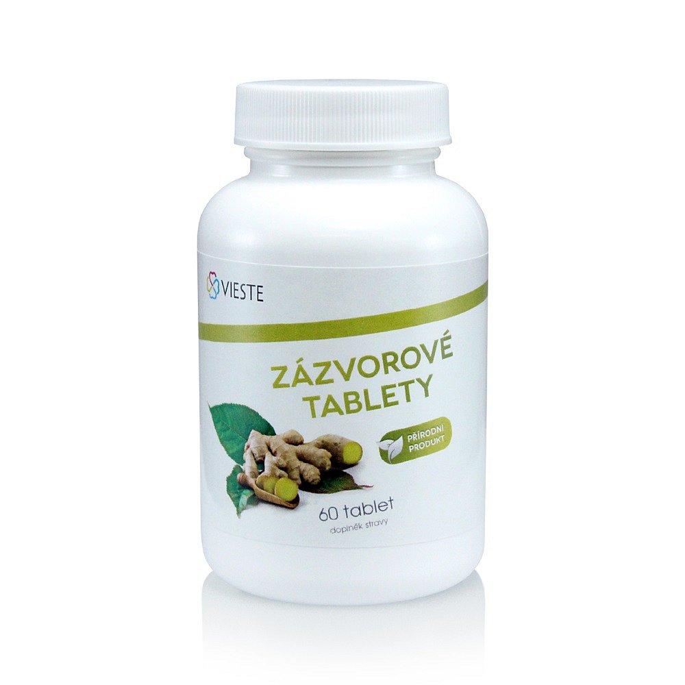 VIESTE Zázvorové tablety 60 tablet