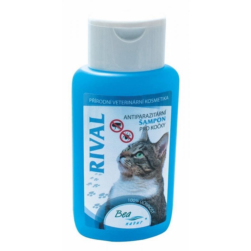 Bea Rival antiparazitní šampon kočka 220ml