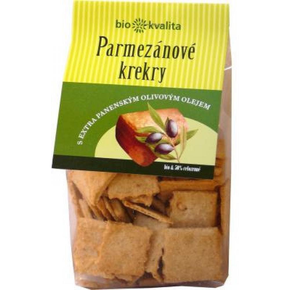 Bio Nebio Parmezánové krekry s EP olivovým olejem 130g-BIO