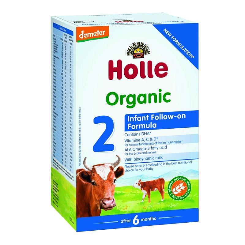 Holle Bio dětská mléčná výživa 2 pokračovací 600g