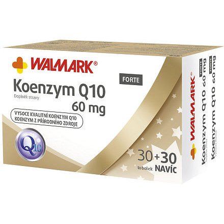 Walmark Koenzym Q10 30+30 tobolek Promo 60mg