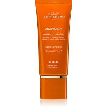 Institut Esthederm Adaptasun opalovací krém na obličej s vysokou UV ochranou  50 ml