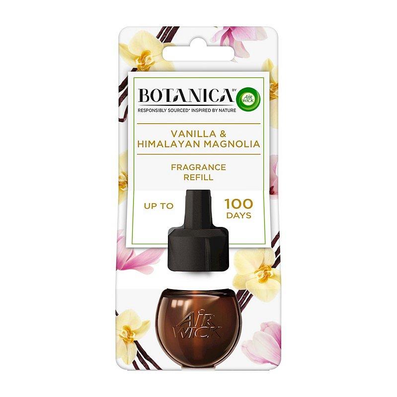 BOTANICA by AIR WICK tekutá náplň do elektrického přístroje Vanilka a himalájská magnolie 19 ml