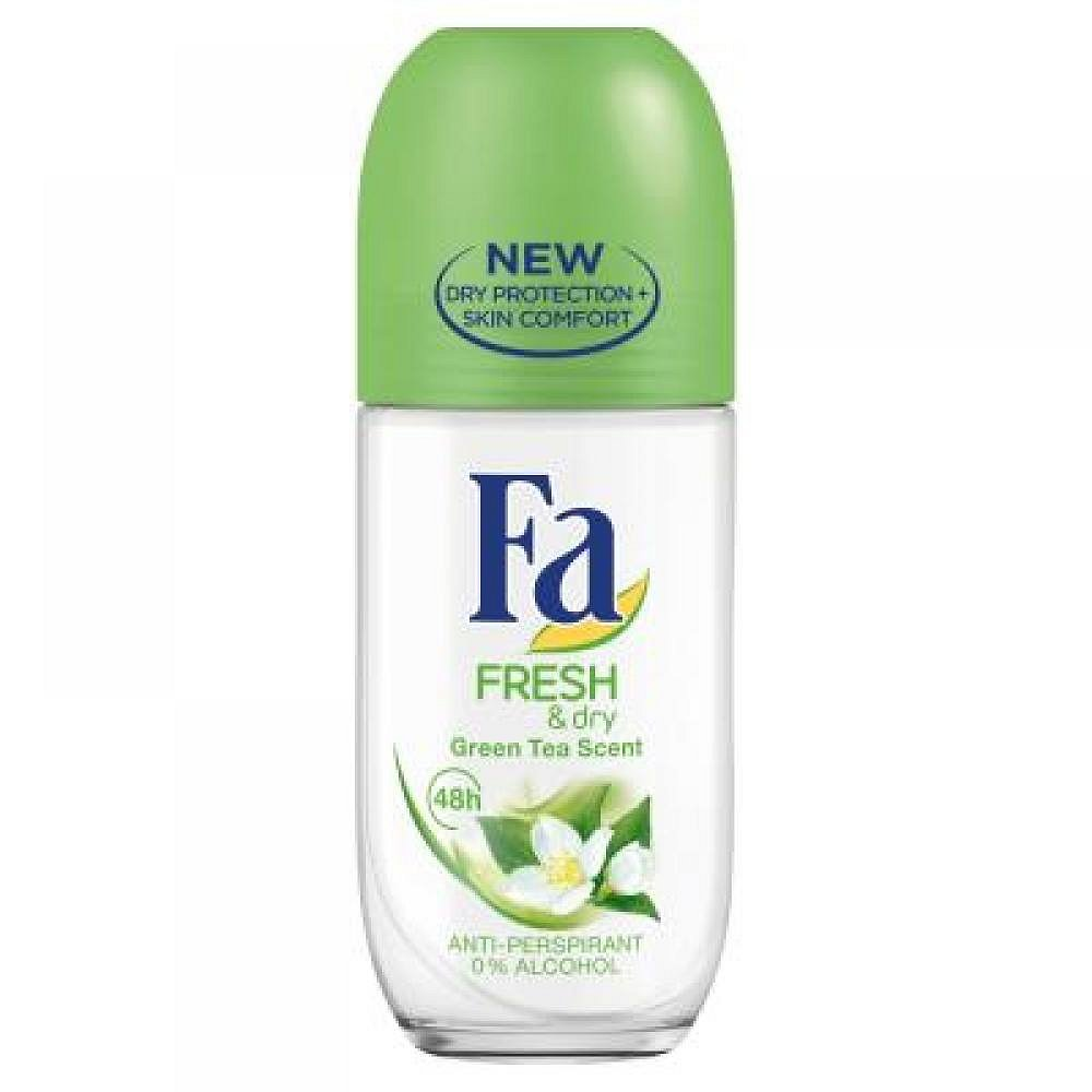 FA kuličkový antiperspirant Fresh & Dry Green Tea Scent 50 ml