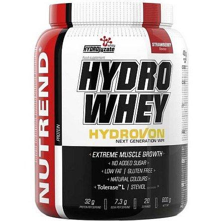 HYDRO WHEY, 800 g, jahoda