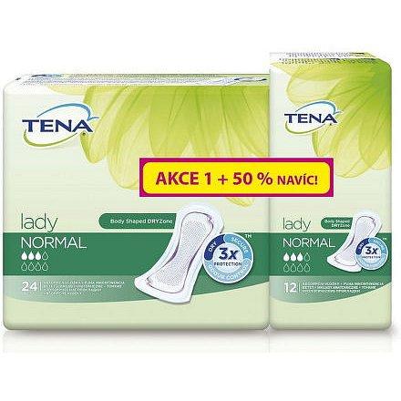 Inkontinenční vložky TENA Lady Slim Normal +50% navíc