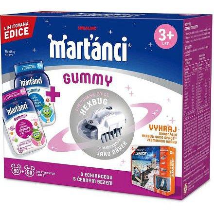 Walmark Marťánci gummi 50+ 50 + Hexbug brouk