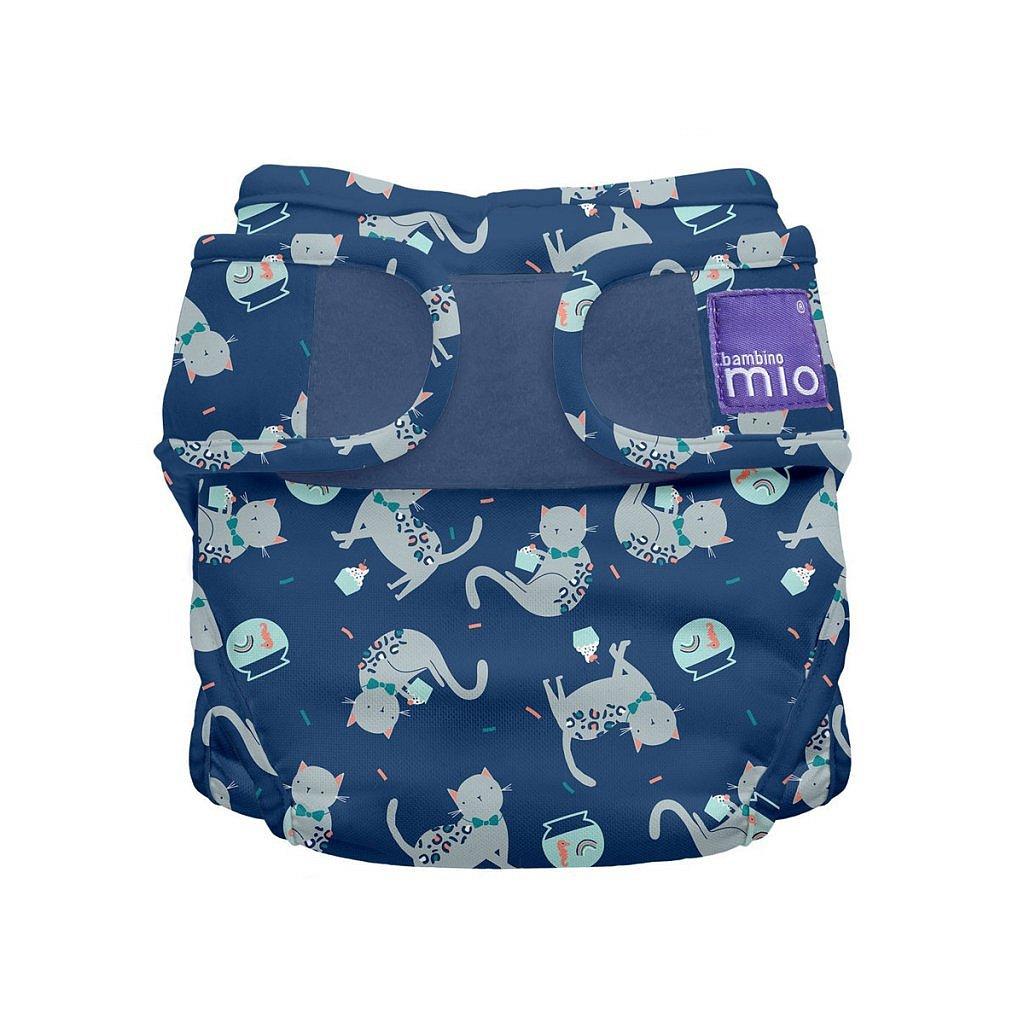 Bambino Mio Miosoft plenkové kalhotky Feline Fiesta 3-9kg