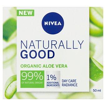 Nivea Naturally Good Rozjasňující denní krém 50 ml