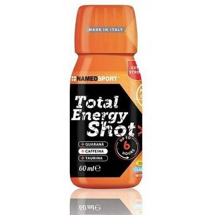 NAMEDSPORT, Total Energy Shot, Orange, 60 ml