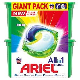 Ariel Allin1 Pods Color Kapsle Na Praní barevného prádla 80 Praní 80 ks