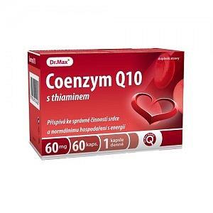Dr.Max COENZYM Q10 60mg S THIAMINEM cps 60