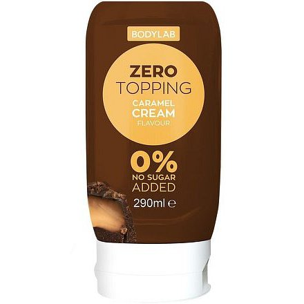 Bodylab Zero Topping Syrup karamel 290ml