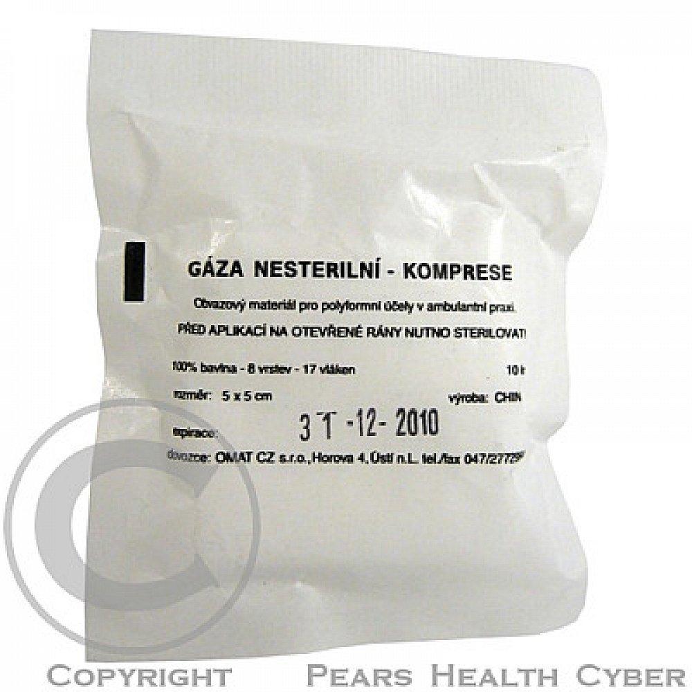 Gáza kompr.nester.5x5cm/10ks CJZ