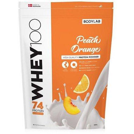 Bodylab Whey Protein 100 broskev/pomeranč 1000g