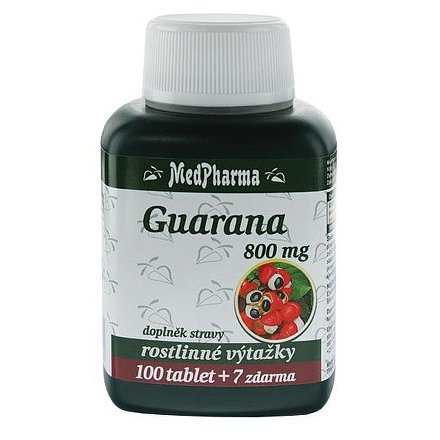 MedPharma Guarana 800 mg tablety 107