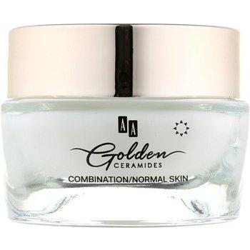 AA Cosmetics Golden Ceramides denní protivráskový krém s matným efektem  50 ml