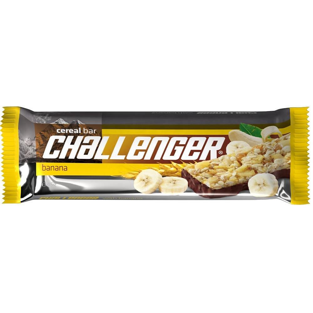 FIT Müsli tyčinka challenger banán a kakao 45 g