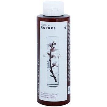 Korres Almond & Linseed šampon pro suché a poškozené vlasy 250 ml