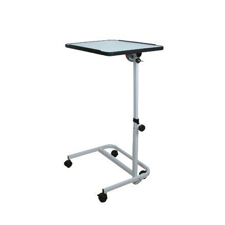 Pojízdný stolek k lůžku RFM, bílý