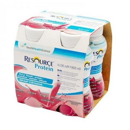 Resource Protein Les.Plody perorální roztok 4 x 200 ml